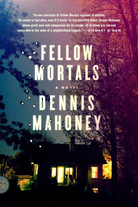 FELLOW MORTALS COVER DESIGN Dennis Mahoney