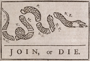 Join or Die Symbol Flag