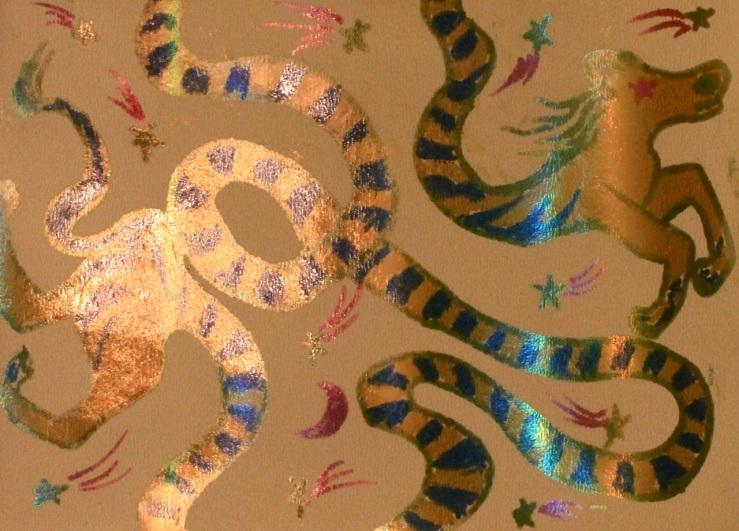 snake horse